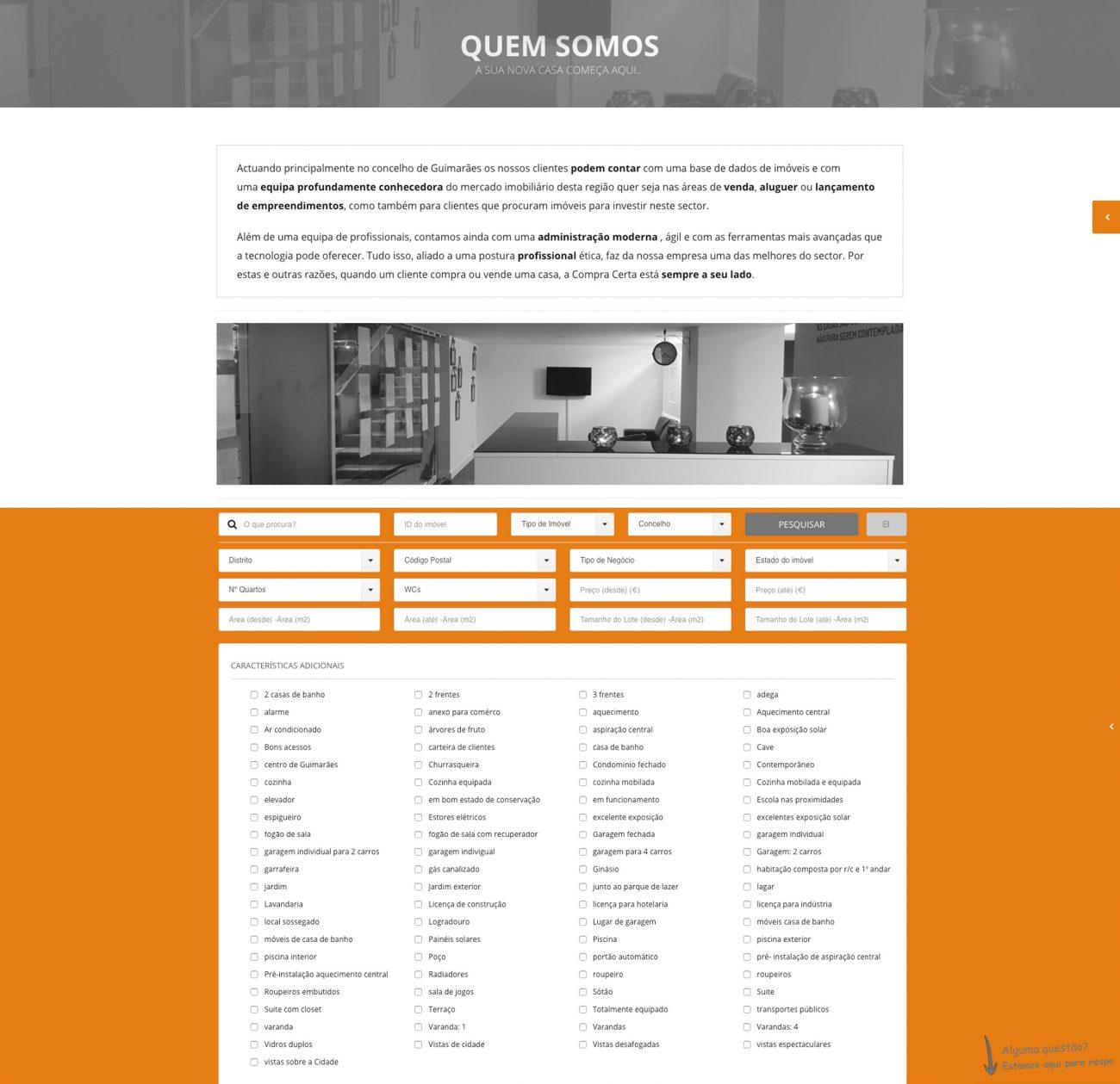 Especialistas em sites para imobiliárias e mediação imobiliária
