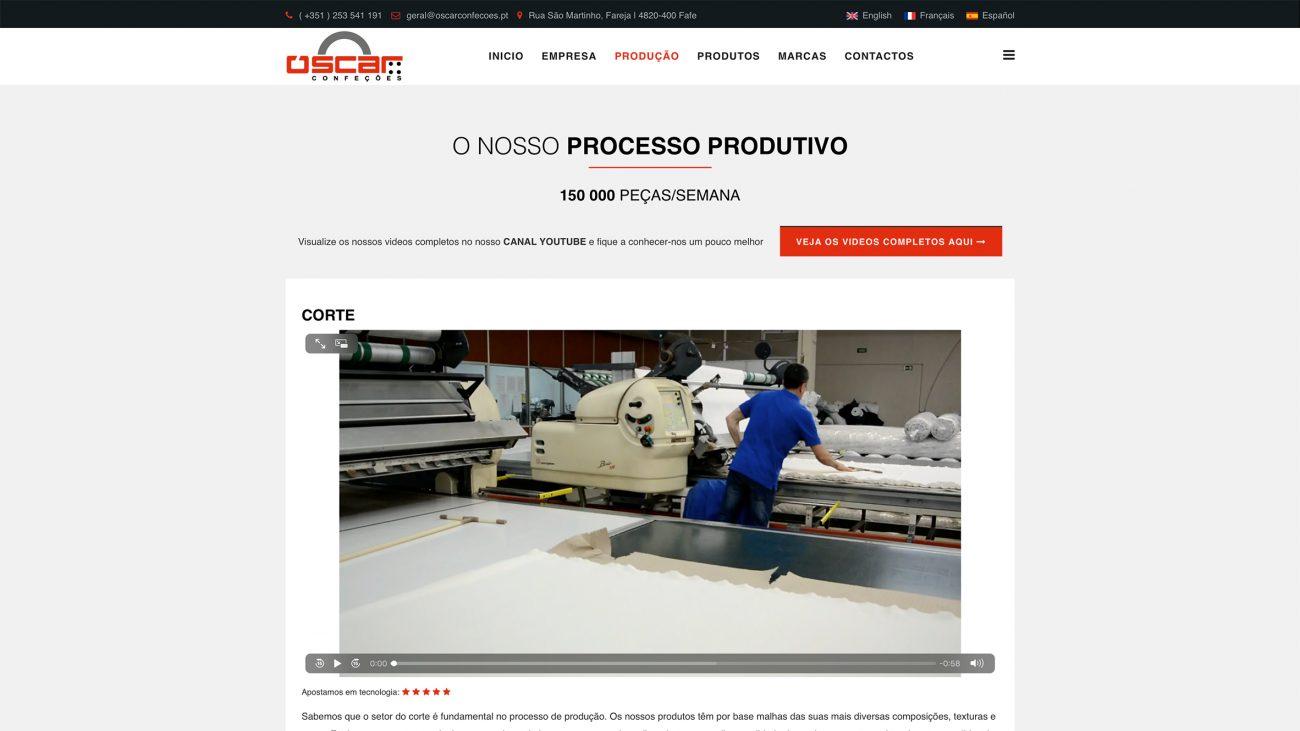 Especialistas em sites para confeções e área têxtil