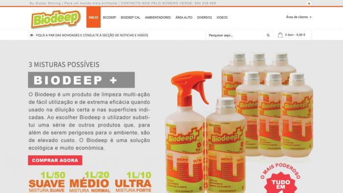 Especialistas em sites e produtos de limpeza com vendas online