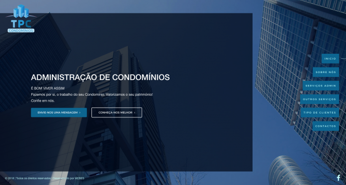 Site TPC CONDOMINIOS