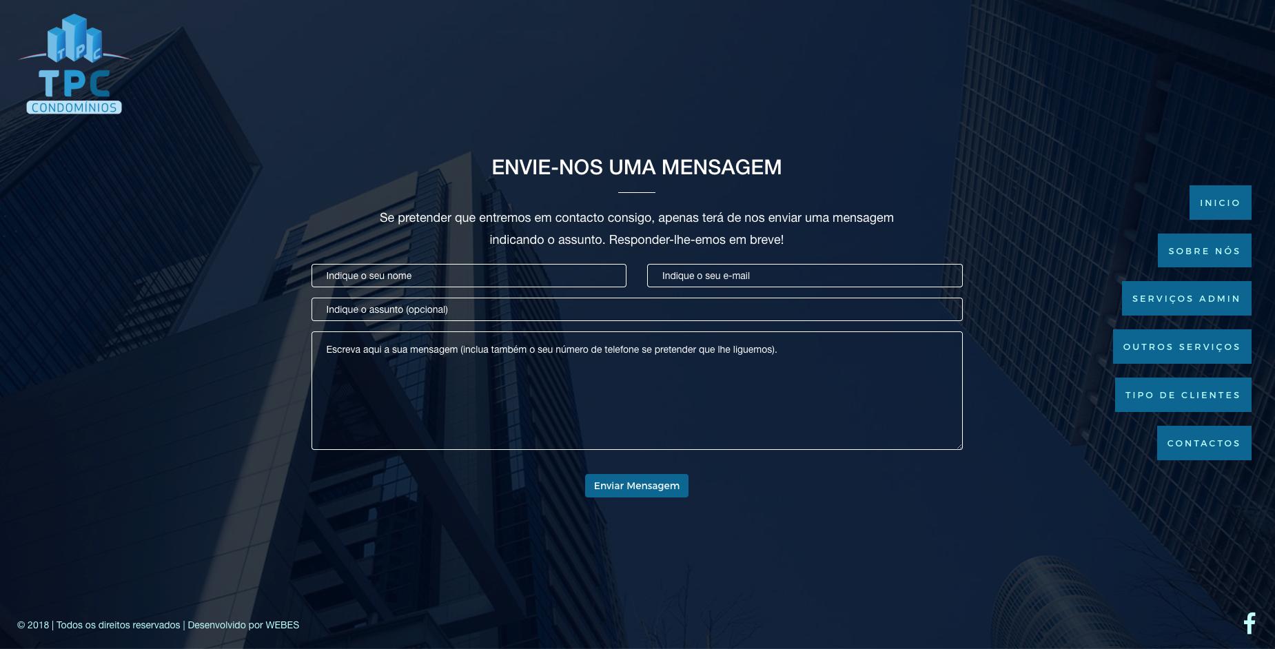Site gestão condomínios e empresas de condomínio porto e gaia