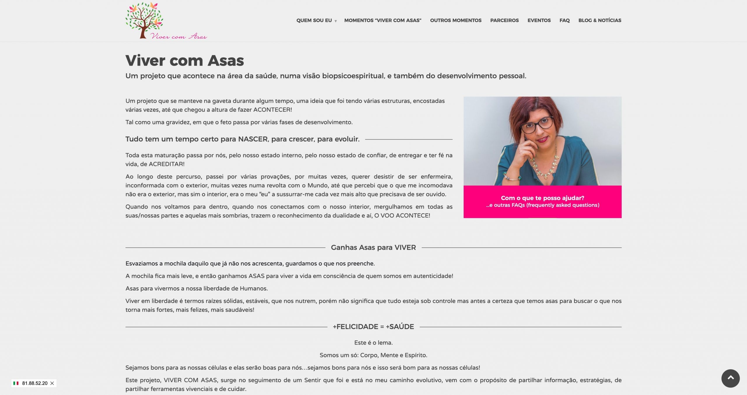 Sites para blogs e websites de coaching