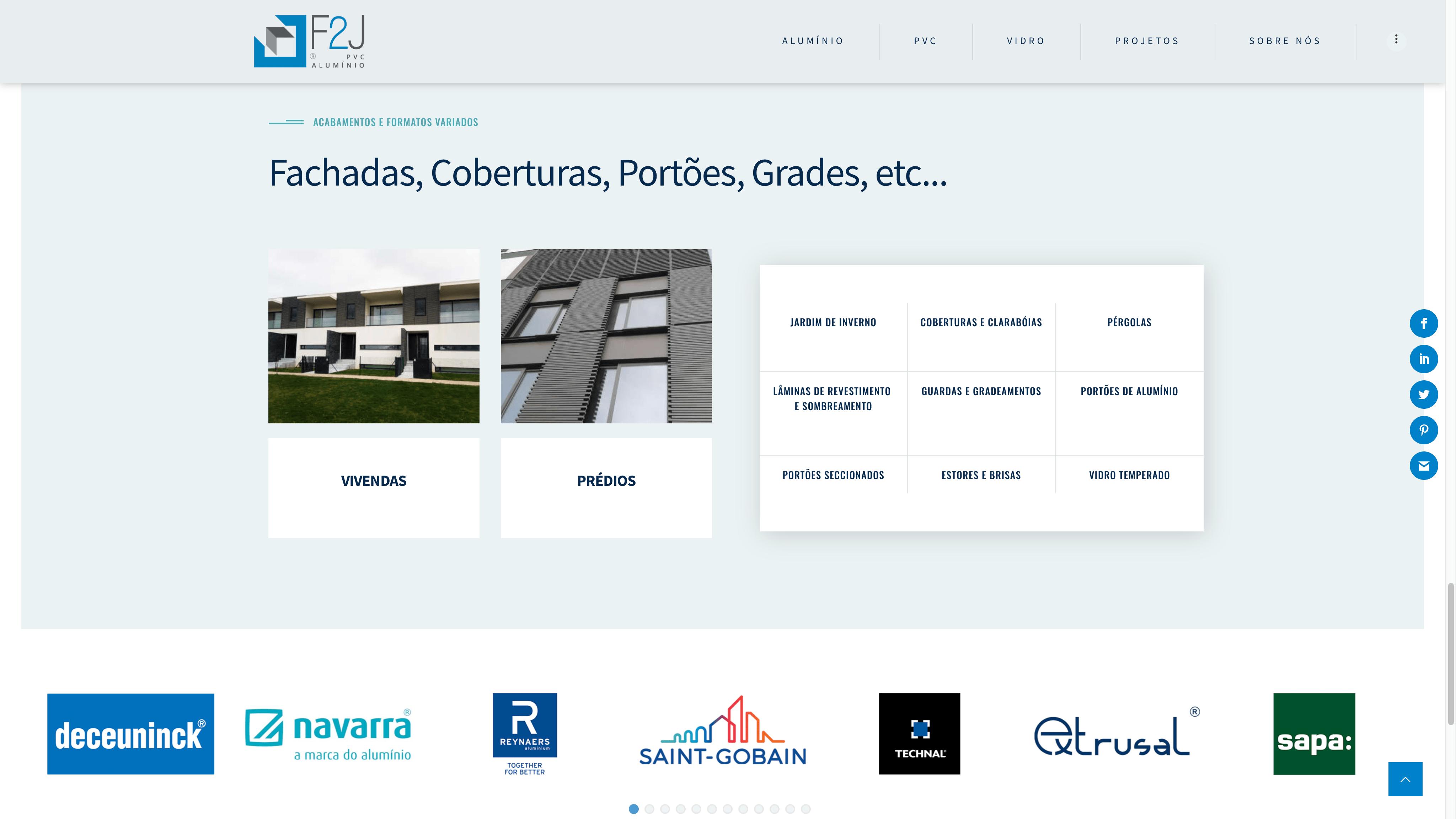 sites para a indústria